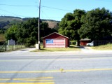 Old Glory on Carmel Valley Road