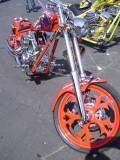 Sammy Hagar's Red Rocker Arlen Ness chopper