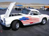 Old Glory Chevy Corvette