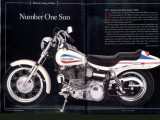 71 Harley Super Glide Evil Knievel