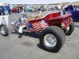 Patriotic Model T Hot Rod