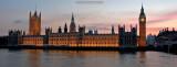 Big Ben and Parliament house at sunset