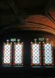 Basilica of the Holy Blood staircase windows