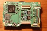 Digic circuit-board rear, minus protective covers