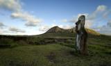 Moai, early morning.
