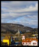 Colors of St-Sauveur village