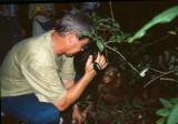 Filming on Kalimantan