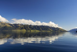 The Saw Tooth Range - Lake Hawea
