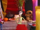 san miguel: day of the dead altar