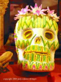 san miguel: day of the dead sugar skull