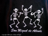 san miguel: day of the dead t shirt