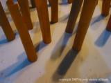 2.14.07 orange poles in snow