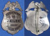 rare Oakland Ca Jailer badge
