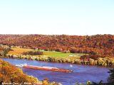Fall on the Ohio River \ Madison, Indiana (USA)