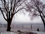 Winter on the Ohio River.