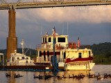 A Madison Evening on the Ohio River.