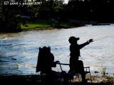 Young Fisherman at Hardy Lake.