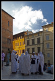 Outside Siena´s Cathedral