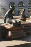 Seals on the Statue Havis Amanda