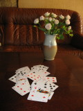 Roses and Playing Cards..