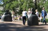 Esplanadi Park on a Summer Day