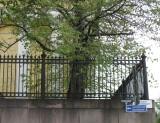 Metal Fence, Yliopistonkatu ( = University Street)