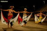 Polynesian dance show at Kia Ora