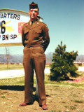 Martin at Camp Younghans, Japan