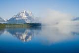 Mt. Moran vs. fog