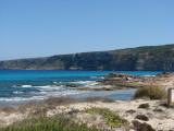 Rugged shore at Es Calo