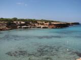 Cala Saona Boatsheds