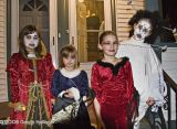 Four Haloween Visitors