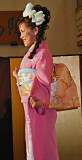 Japanese Model Pretty in Pink