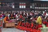 Paro Lama and monks