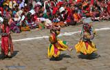 Kicking  Dancers
