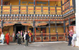 Peter and Roxanna at the Dzong