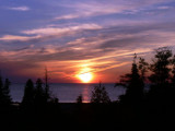 Spectacular sunsets on Lake Huron - Bruce Peninsula