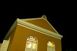Caribbean Church at Night