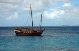 Ship in the Caribbean