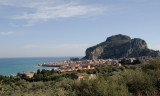 Cefalu in the Distance