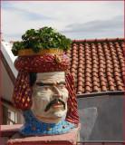 Planter in Taormina