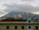 rooftop mountains