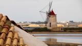 Windmill at the Salt Flats