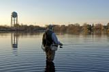 fishing in West Lake