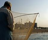 fishing the pier