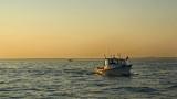 fishing  @ sunset