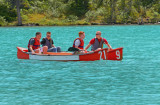 Canoeists at Lake Louise