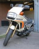 The  less  than  ubiquitous  Honda   CX500  Turbo