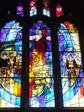 Commemmorative stained glass window
