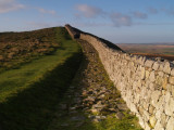 Hadrian's Wall on Winshield Crags.